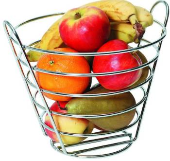 Corbeille à Fruits - Fil Métallique