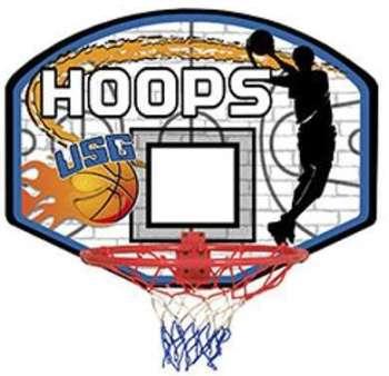 Panneau de basket mural 60x45cm