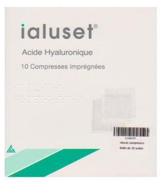 Ialuset Compresses à l acide