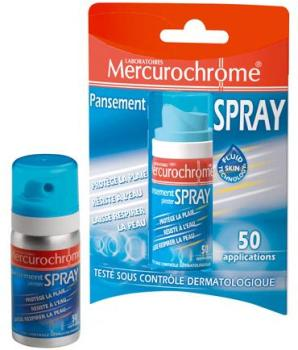 Mercurochrome Pansements Spray