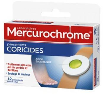 Mercurochrome Pansements Coricide