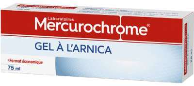 Gel à l arnica Mercurochrome