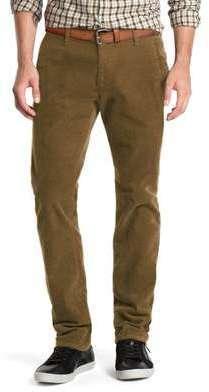 Pantalon velours homme camel