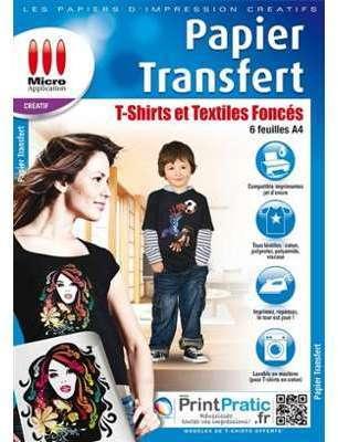 Papier transfert pour T-shirts