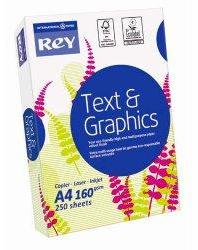 Papier Rey Text Graphics -
