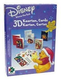 16 cartes de Noël 3D Winnie