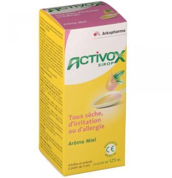 Activox sirop pour la toux