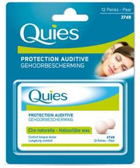 Protection auditive cire naturelle