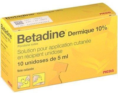 Betadine Dermique 10