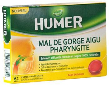 Humer Mal de Gorge Aigu Pharyngite