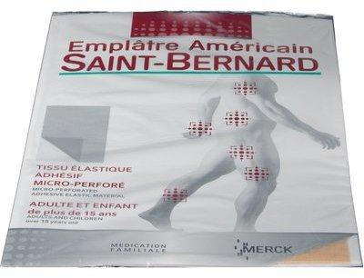 Saint Bernard patch chauffant