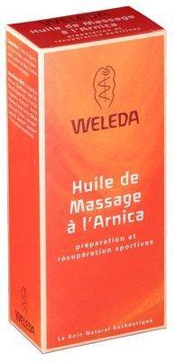 Weleda huile massage à l arnica