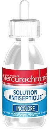 Mercurochrome Solution Antiseptique
