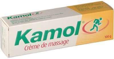 Kamol crème de massage contractures