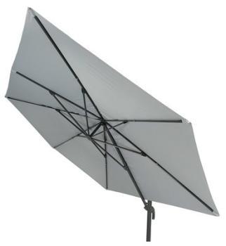 Parasol déporté en aluminium