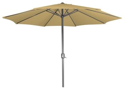 Parasol droit Beige