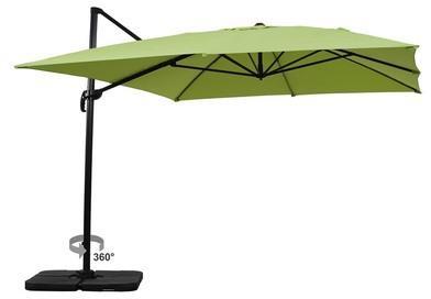 Parasol jardin déporté Alu