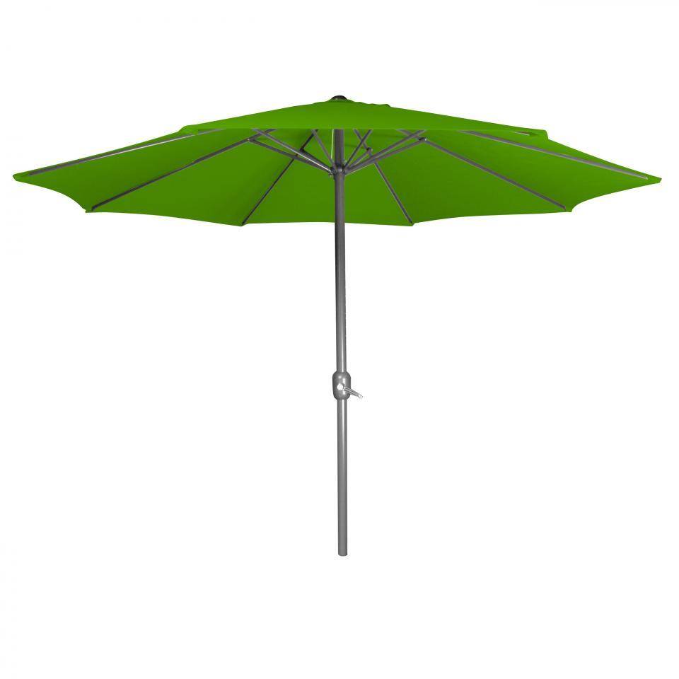 Parasol droit Vert