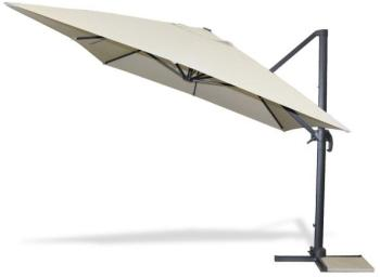 Parasol 4x3 m en aluminium
