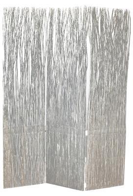 Paravent osier brun clair
