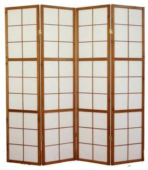 Paravent japonais bois brun