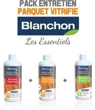 Pack Blanchon Entretien parquet