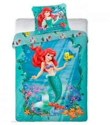 Disney stickers gant ariel robe de bal la petite sirne - Housse de couette 160x220 ...
