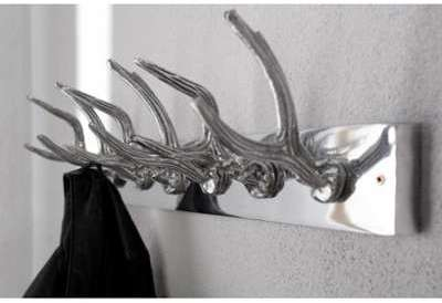 Porte manteau design en aluminium