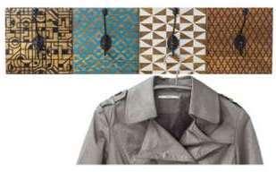 Porte manteau design en acier