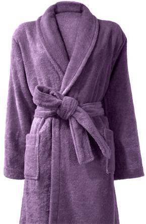 Peignoir de bain Violet S
