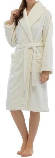 Peignoir Femme Couleur - Blanc
