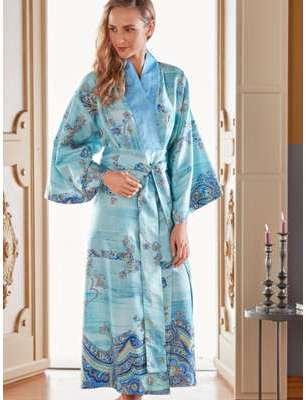 Le kimono Bassetti bleu