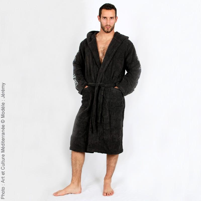 peignoir de bain homme avec capuche peignoir homme quelques liens utiles robe de chambre. Black Bedroom Furniture Sets. Home Design Ideas