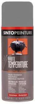 Bombe de peinture haute température