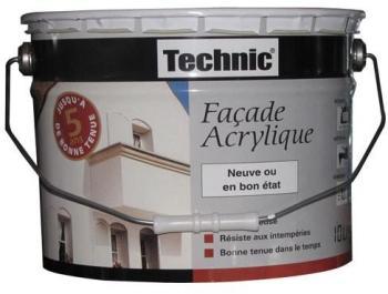 Peinture acrylique - façade