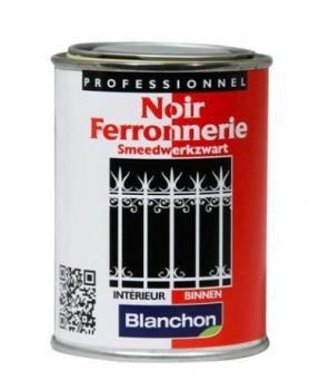 Noir ferronneries- finition
