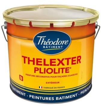 Peinture façade Pliolite Thelexter
