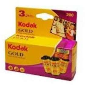Kodak gold 200 24 poses pack