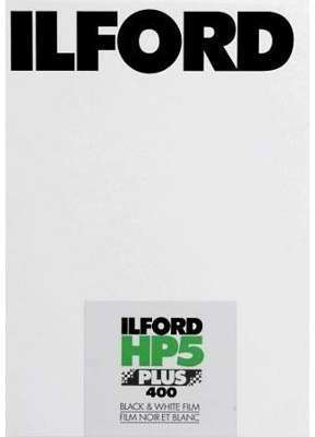 ILFORD HP5 10 2 x 12 7cm (4x5