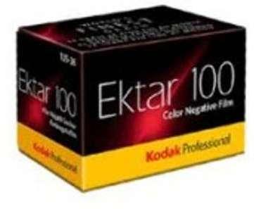 Kodak dev compris ektar 100