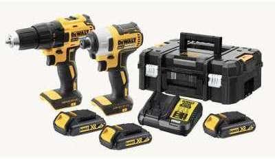 Kit 2 outils XR 18V 1 5 Ah