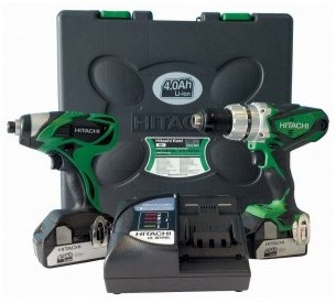 Pack Hitachi KC18DKL Perceuse