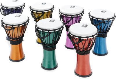 7 Color Sound Djembe Set