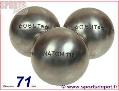 Boules de pétanque Obut -