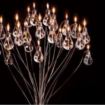 Arbre lumineux decoratif avec