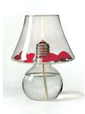 Lampe a huile decorative lux