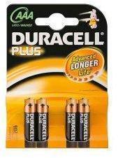 Duracell piles LR03 type AAA