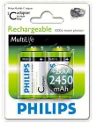 2 piles rechargeables Varta