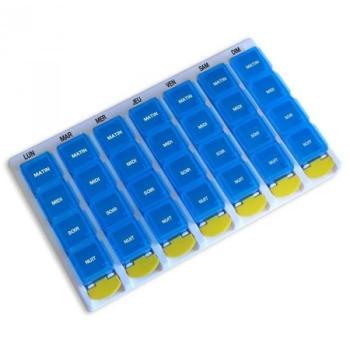 Pilulier 7 jours et compartiments