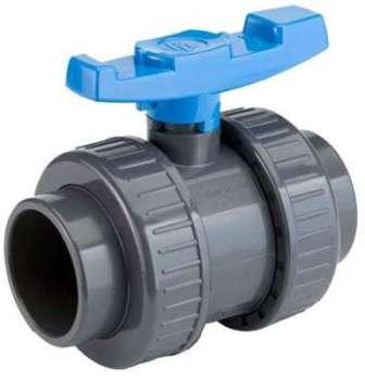 Vanne PVC PN16 Techno Plastic